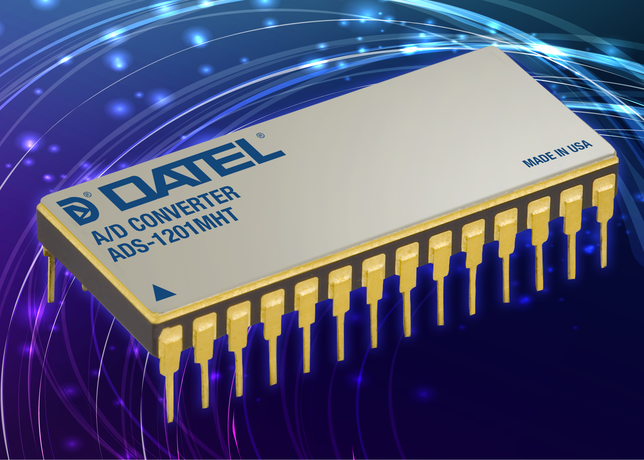 New Products News Datel Data Acquisition Components Cmos Integrated Analogtodigital And Digitaltoanalog Converters Ads 1201 Analog To Digital Converter For High Temperature Applications