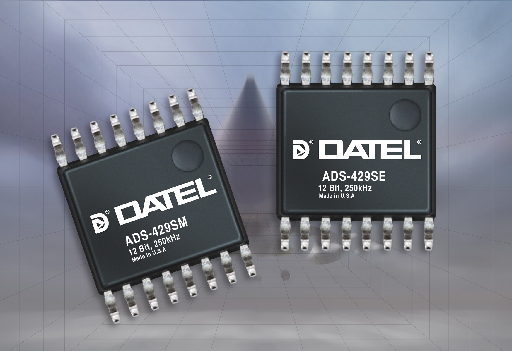 New Products News Datel Data Acquisition Components Dual 10 Bit 500 Msps Dac The Ads 429 Is A 12 250ksps Multi Channel Sar Analog To Digital Converter Housed In 16 Pin Plastic Tssop Package It Best Choice For All