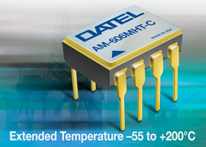 DATEL AM-606HT Series are Dual Operational Amplifiers that Combine High Speed Performance with the Advantages of Precision in a Single Package.