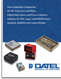 DATEL Capabilities and Short Form Product Catalog.