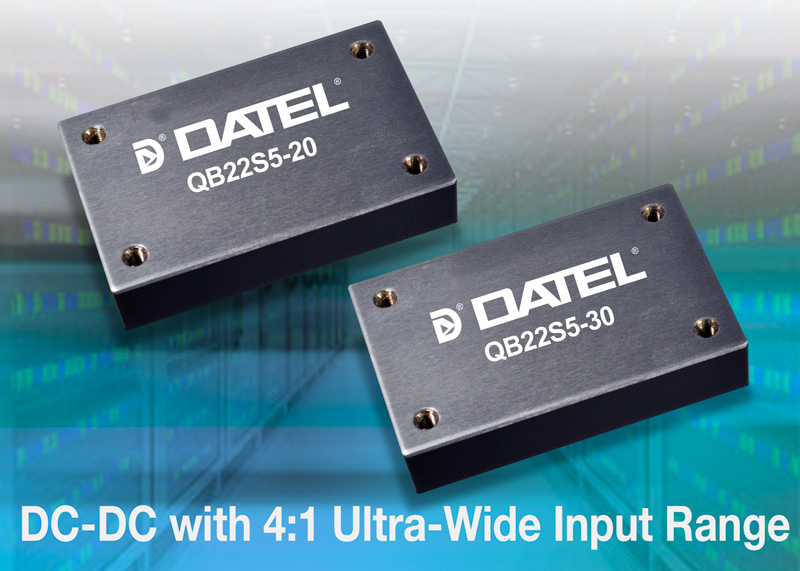 DATEL, 150 Watt Quarter-Brick, QB Series of DC-DC Converters